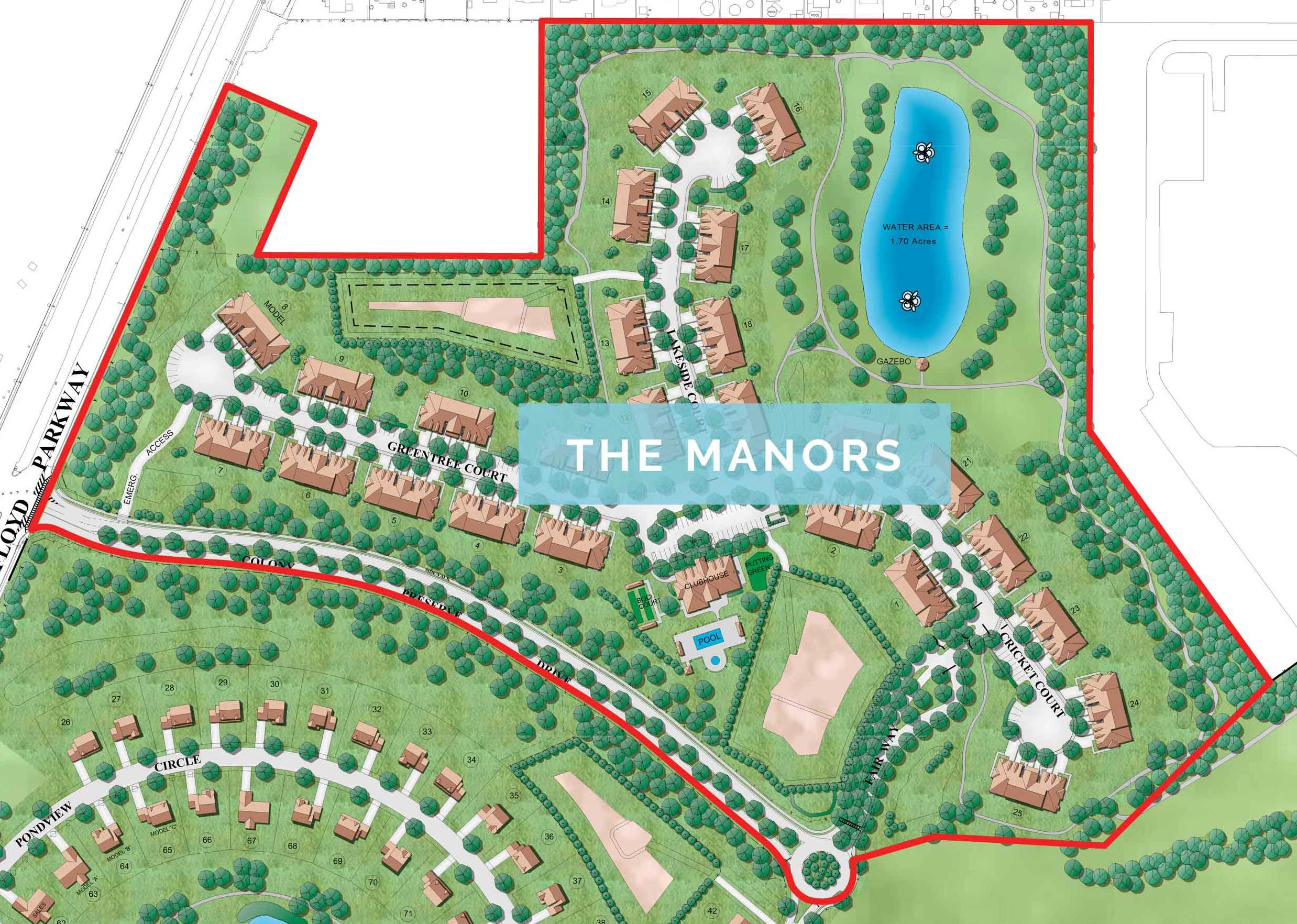 manors site plan